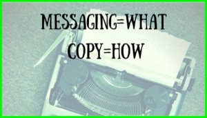 Marketing Messaging vs Copywriting Blog Post